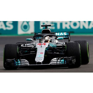 Minichamps Mercedes F1 W09 - 2018 Mexican Grand Prix World Champion - #44 L. Hamilton 1:18