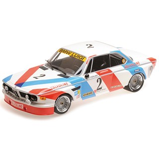 Minichamps BMW 3.0 CSL - 1st 1975 Spa 24 Hours - #2 1:18