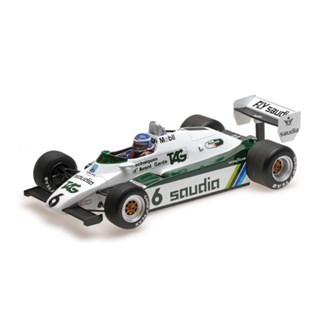 Williams FW08 - 1982 World Champion - #6 K. Rosberg 1:18