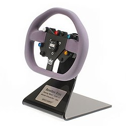 Minichamps Benetton B195 Steering Wheel - 1995 - #1 M. Schumacher 1:2