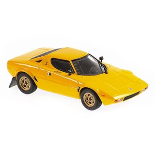Maxichamps Lancia Stratos 1974 - Yellow 1:43