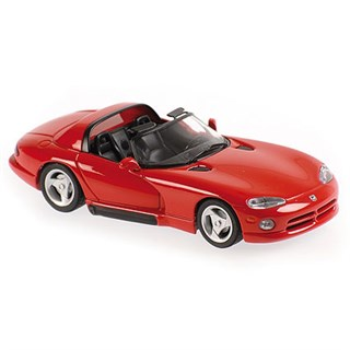 Maxichamps Dodge Viper Roadster 1993 - Red 1:43