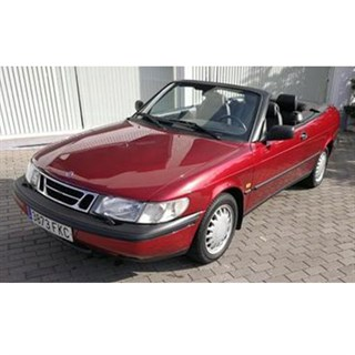 Maxichamps Saab 900 Cabriolet 1995 - Red 1:43