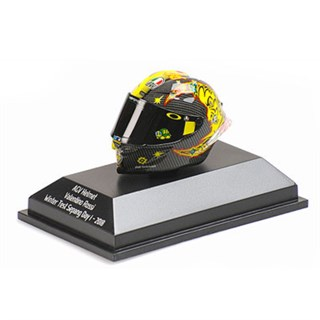 Minichamps AGV Helmet - 2018 Sepang Winter Test Day 1 - #46 V. Rossi 1:8