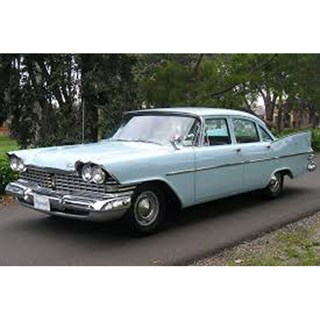Premium X Plymouth Savoy 1959 - Light Blue 1:43