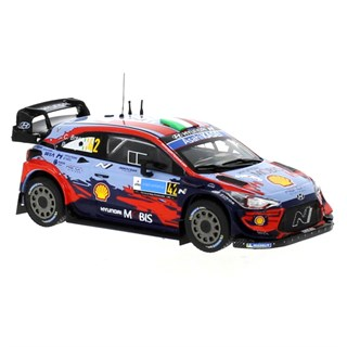 IXO Hyundai i20 Coupe WRC - 2020 Estonia Rally - #42 C. Breen 1:43
