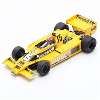 Spark Renault RS01 - 1978 American Grand Prix - #15 J-P. Jabouille 1:18