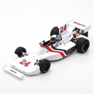 Spark Hesketh 308 - 1st 1975 Dutch Grand Prix - #24 J. Hunt 1:18