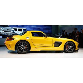 Spark Mercedes SLS AMG Black Series 2013 - Yellow 1:43