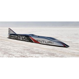 Spark Venturi Jamais Contente - 2010 Electric Land Speed Record - 1:43