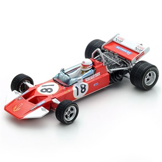Spark Surtees TS7 - 1970 US Grand Prix - #18 D. Bell 1:43