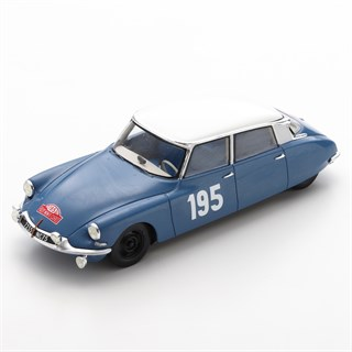 Spark Citroen DS19 - 1963 Monte Carlo Rally - #195 B. Neyret 1:43