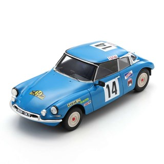 Spark Citroen DS 21 - 1st 1969 Moroccan Rally - #14 B. Neyret 1:43