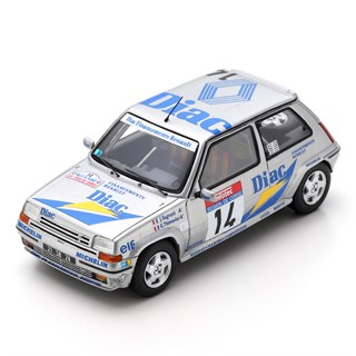 Spark Renault 5 GT Turbo - 1990 Rally France - #14 J. Ragnotti 1:43