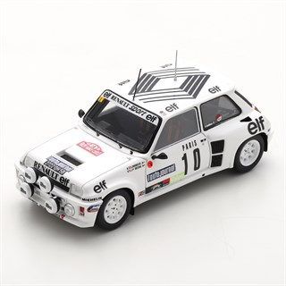Spark Renault 5 Turbo - 1985 Monte Carlo Rally - #10 D. Snobeck 1:43