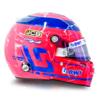 Spark Lance Stroll Racing Point Helmet - 2020 1:5