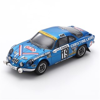 Spark Alpine-Renault A110 - 1976 Monte Carlo Rally - #19 M. Mouton 1:43