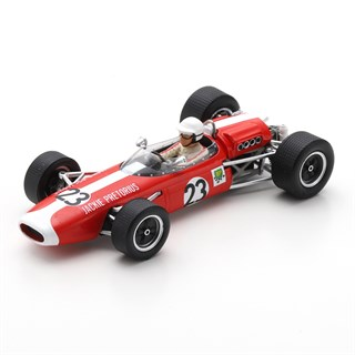 Spark Brabham BT11 - 1968 South African Grand Prix - #23 J. Pretorius 1:43