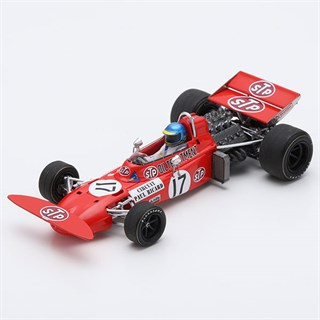Spark March 711 - 1971 French Grand Prix - #17 R. Peterson 1:43