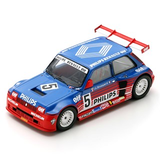 Spark Renault 5 Maxi Turbo - 1987 Superproduction - #5 J-L. Bousquet 1:43