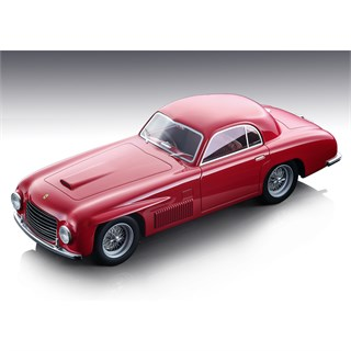 Tecnomodel Ferrari 166 S Coupe Allemano 1948 - Press Car Red 1:18