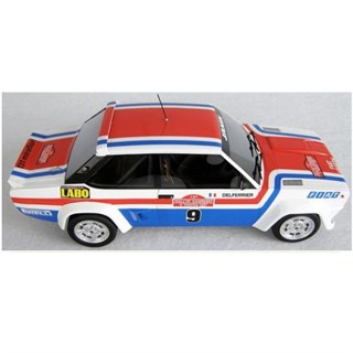 Top Marques Fiat 131 Arbarth - 1st 1977 San Remo Rally - #9 J. Andruet 1:18