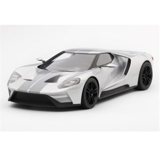 TopSpeed Ford GT - 2015 Chicago Auto Show - Ingot Silver 1:18