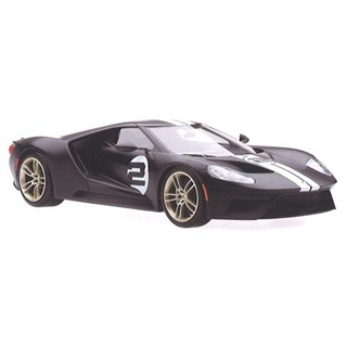 TopSpeed Ford GT - 2017 Heritage Edition - Shadow Black 1:18