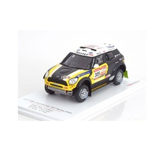 TrueScale Miniatures Mini Countryman - 2nd 2012 Dakar Rally - #305 N. Roma 1:43