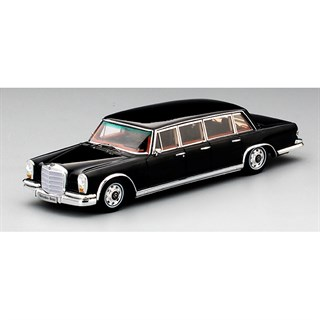 TrueScale Miniatures Mercedes 600 Pullman 6-Door 1964 -  Black 1:43