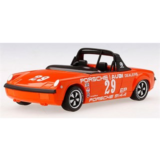 TrueScale Miniatures Porsche 914-4 - 1972 American Road Race Championship - #29 R. Ginther 1:43