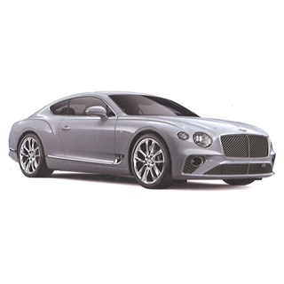 TopSpeed Bentley New Continental GT - Ice White 1:18