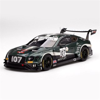 TopSpeed Bentley Continental GT3 - 2019 Spa 24 Hours - #107 1:18