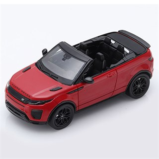 TrueScale Miniatures Range Rover Evoque Convertible - Red 1:43