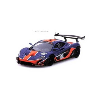 TrueScale Miniatures McLaren P1 GTR - Blue/Orange 1:43
