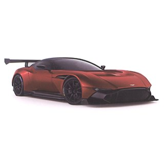 TrueScale Miniatures Aston Martin Vulcan - Orange 1:43