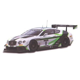 TrueScale Miniatures Bentley Continental GT3 - 2016 Blancpain Sprint Series - #8 1:43