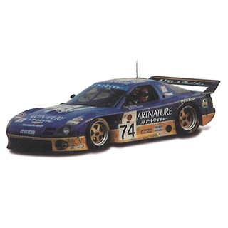 TrueScale Miniatures Mazda RX-7 GTO - 1994 Le Mans 24 Hours - #74 1:43