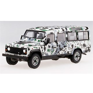TrueScale Miniatures Land Rover Defender - CNN Armoured Pizza Truck 1:43