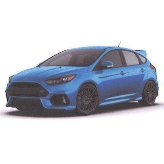 TrueScale Miniatures Ford Focus RS - Blue 1:43