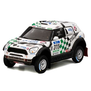 TrueScale Miniatures Mini All4 Racing - 2016 Dakar Rally - #315 1:43