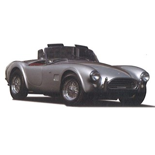 TrueScale Miniatures Shelby Cobra 289 1964 - Silver/Red 1:43