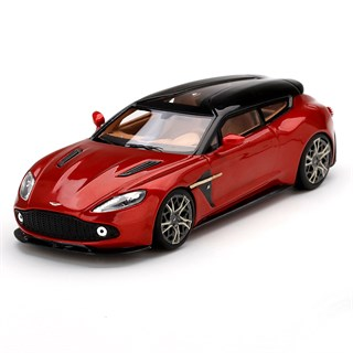 TrueScale Miniatures Aston Martin Vanquish Zagato Shooting Brake - Lava Red 1:43