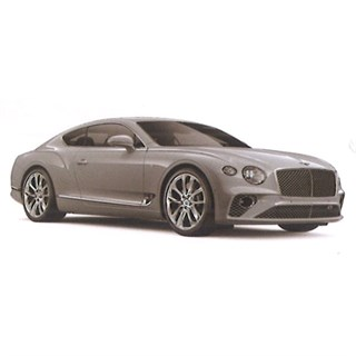 TrueScale Miniatures Bentley New Continental GT - Ice White 1:43