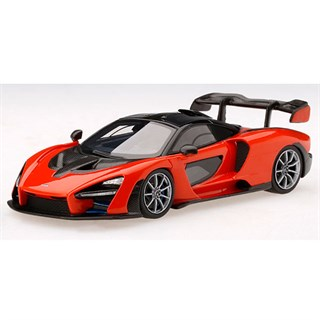 TrueScale Miniatures McLaren Senna - Mira Orange 1:43