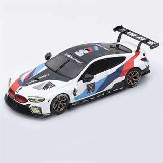 TrueScale Miniatures BMW M8 GTE - 2018 Presentation Car 1:43
