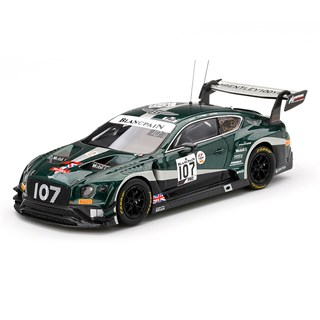 TrueScale Miniatures Bentley Continental GT3 - 2019 Spa 24 Hours - #107 1:43