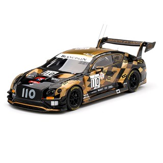 TrueScale Miniatures Bentley Continental GT3 - 2019 Spa 24 Hours - #110 1:43