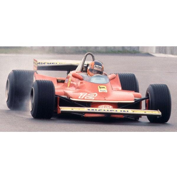 Driver Figure 1:43 Model Ferrari 312 T4 J Scheckter 1979 #11 Winner Italy GP