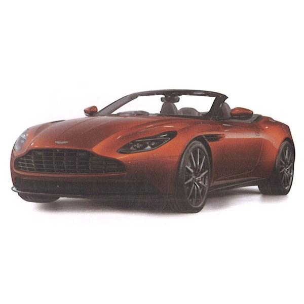 Topspeed Aston Martin Db11 Volante Cinnabar Orange 1 18